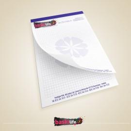 Tutkallı Bloknot A5 - 14x20 cm